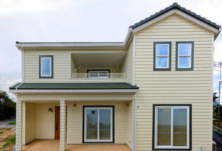 赤毛のアンが住んでいるようなアメリカンスタイルの家
